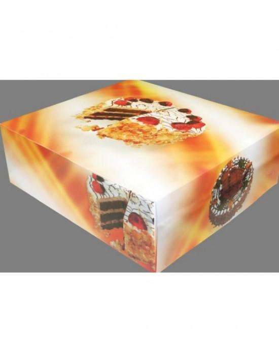 Büyük Pasta Kutusu - 50 Adet - 32x45x13