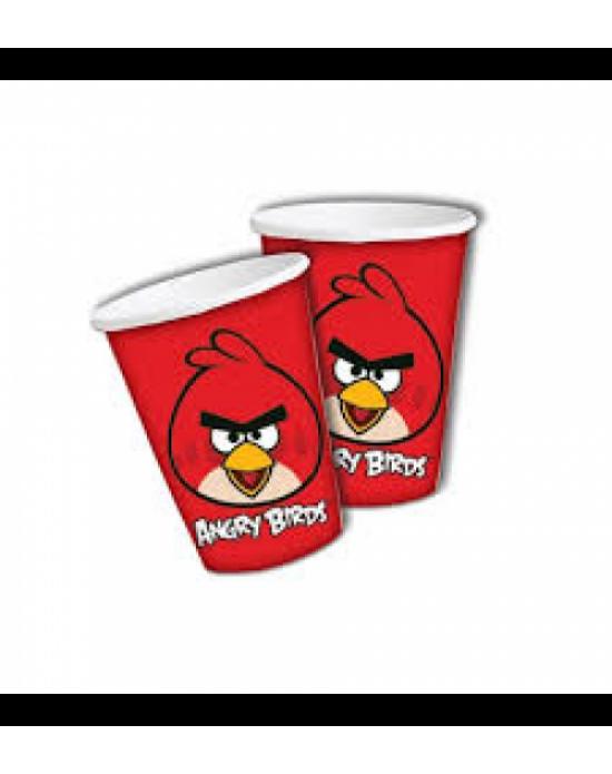 Bardak Lisanslı Angry Birds 8 Adet
