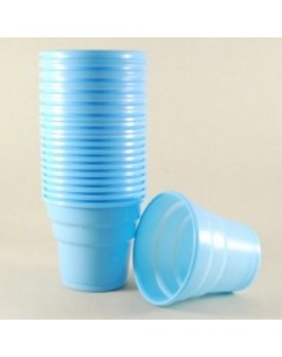 Plastik Bardak Mavi 25 Adet