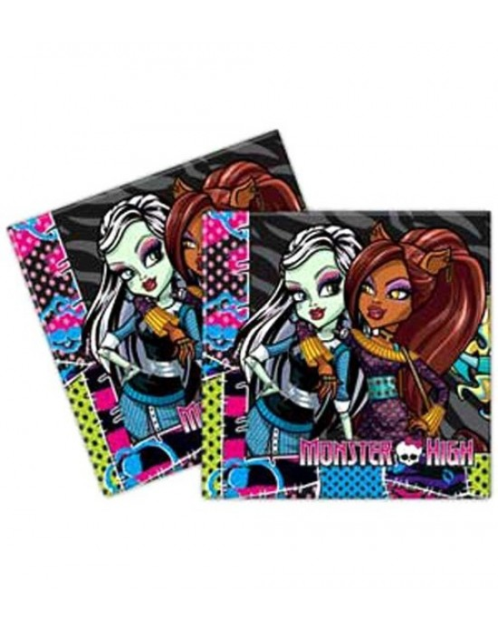 Kağıt Peçete Lisanslı Monster High 16 Adet