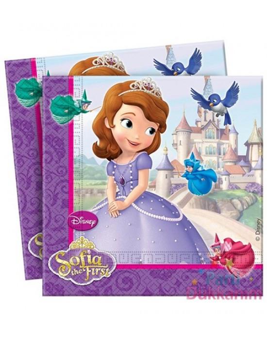 Kağıt Peçete Prenses Sofia 20 Adet