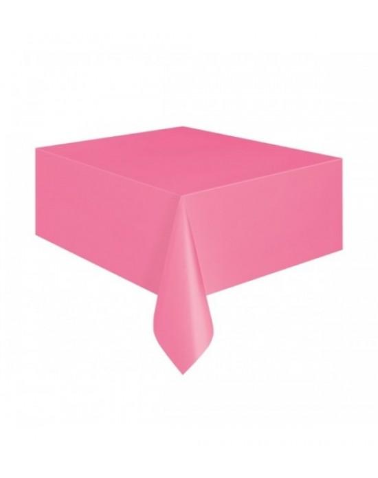 Masa Örtüsü Plastik Pembe 1.20x1.80cm