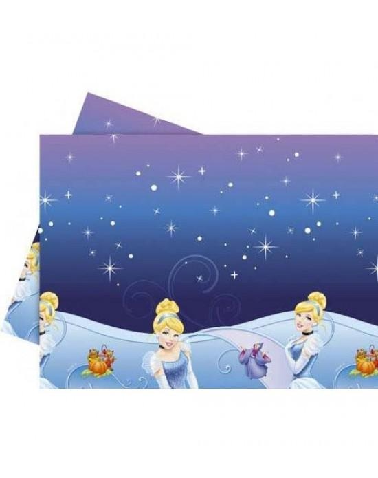 Masa Örtüsü Lisanslı Cinderella 1.20X1.80CM