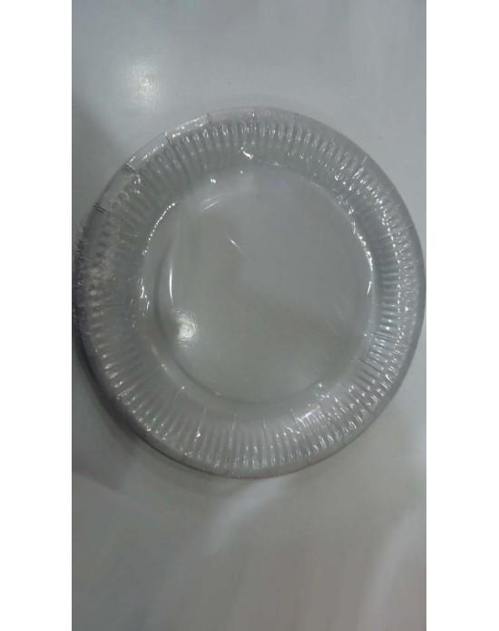 Karton Tabak Gümüş (10 Adet)