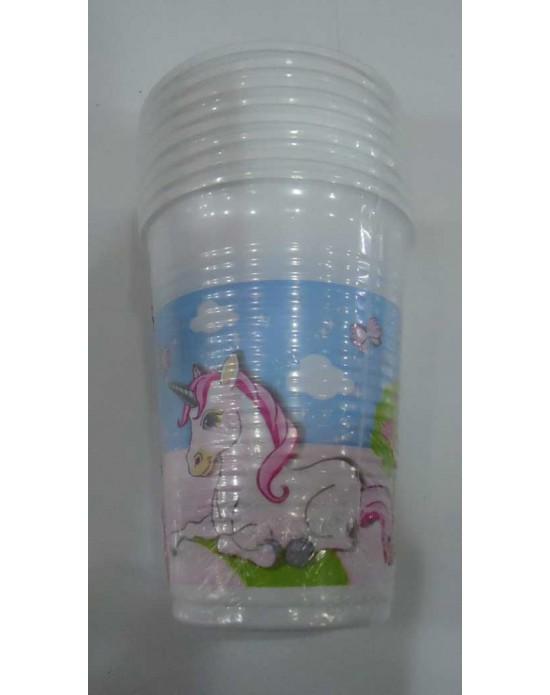 Unicorn Plastik Bardak