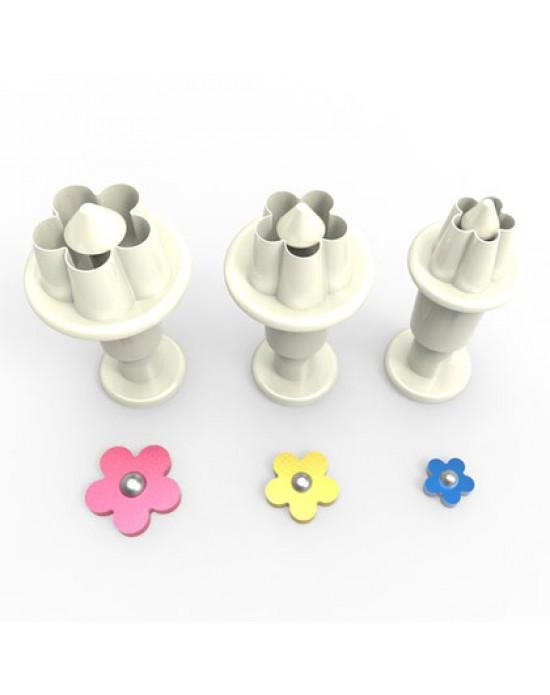 Çiçek 3'lü Mini Enjektörlü Kopat