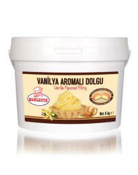 Ovalette Vanilya Aromalı Dolgu 6 Kg.