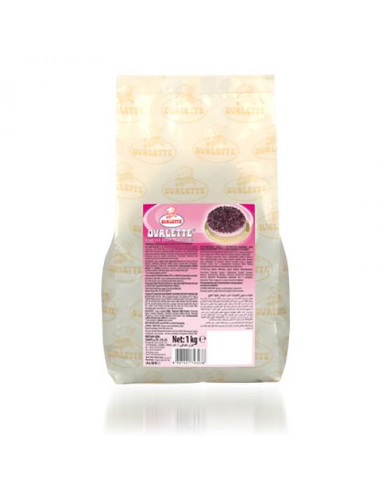 Ovalette Frambuaz Aromalı Şarlot Tozu 1 Kg.