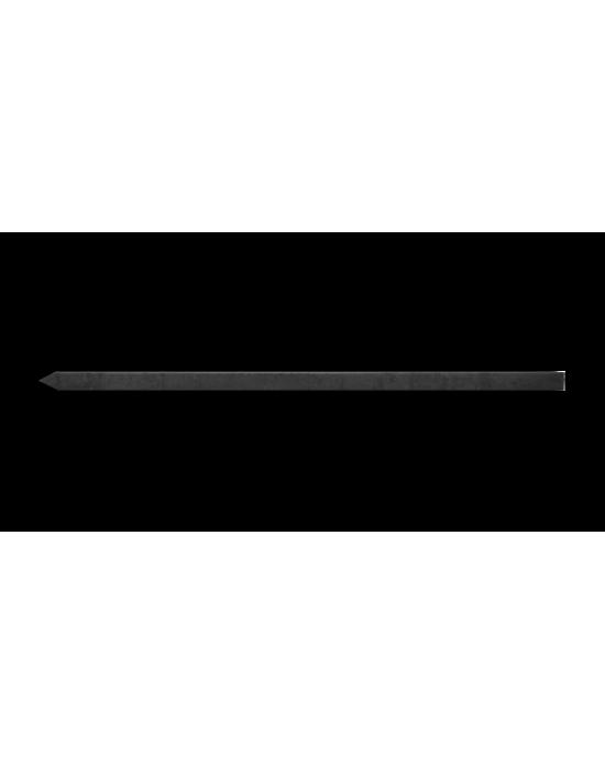 Adana Şiş Siyah 60 cm / 20 x 600 x 2 mm