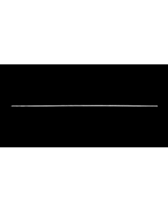 Paslanmaz Kare Şiş 60 cm / 3 x 600 x 3 mm