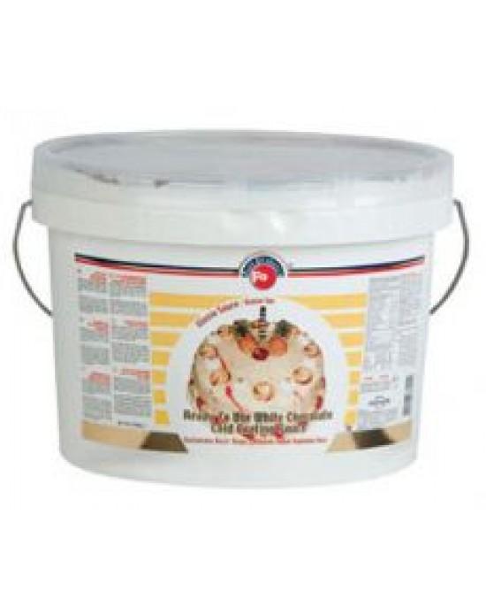 Fo Beyaz Çikolatalı Soğuk Glasso Kaplama Sosu 5 Kg.