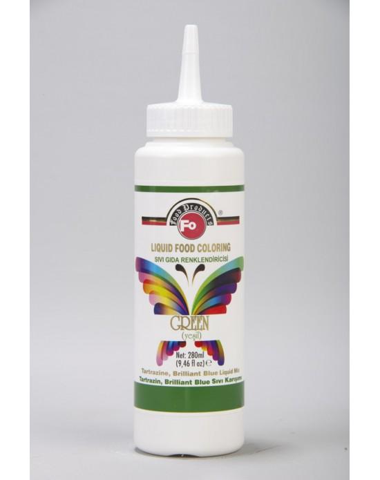 Fo Yeşil Sıvı Gıda Renklendiricisi 280 ml
