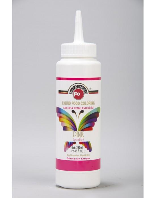 Fo Pembe Sıvı Gıda Renklendiricisi 280 ml