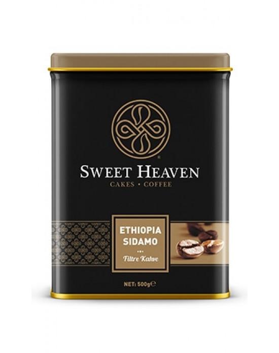 Sweet Filtre Kahve-Ethiophia Sidamo 500 Gr. X 6 Kt.