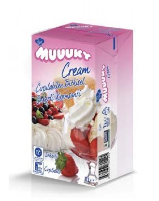 Muuky Cream Sıvı Krem Şanti 1 Kg.