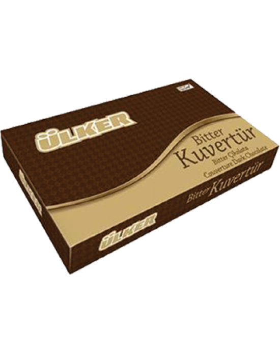 Ülker Kuvertür Çikolata Bitter %54 (EKS111) 2.5 Kg.