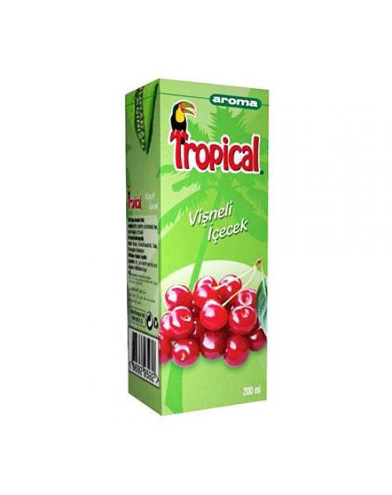 Aroma Tropical Meyve Suyu Vişne 200 Ml (Koli)