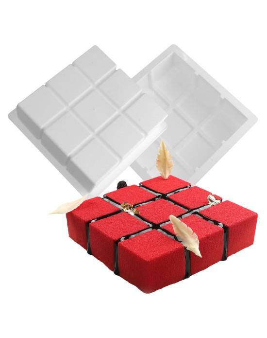 Silikon Kalıp - Cube
