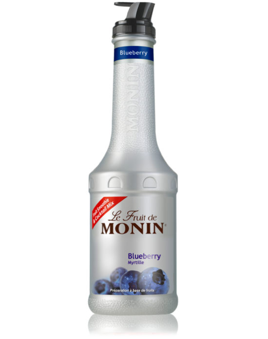 Monin Le Fruit Blueberry (Yaban Mersini Meyve Karışımı) 1 Lt.Pet