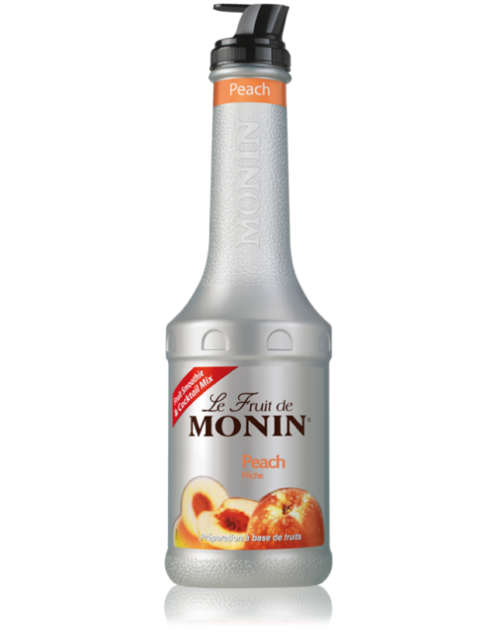 Monin Le Fruit Peach (Şeftali Püresi) 1 Lt.Pet