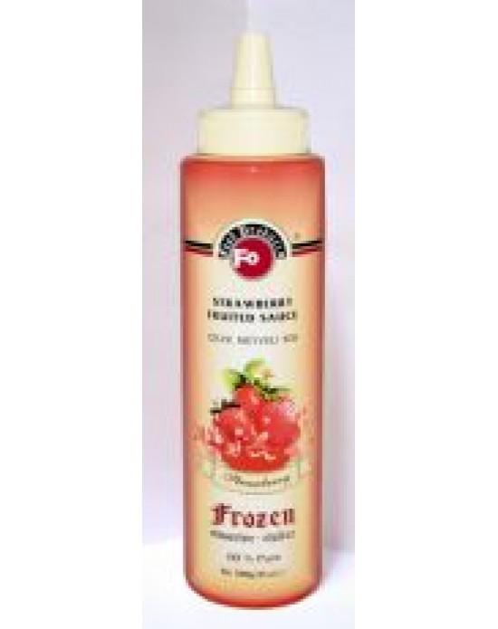 Fo Çilek Meyveli Sos (Frozen) (%60 Çilek) (6x6) 1 Kg.
