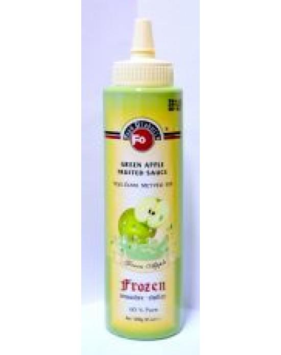 Fo Yeşil Elma Meyveli Sos (Frozen) (%60 Yeşil Elma) (6x6) 1 Kg.