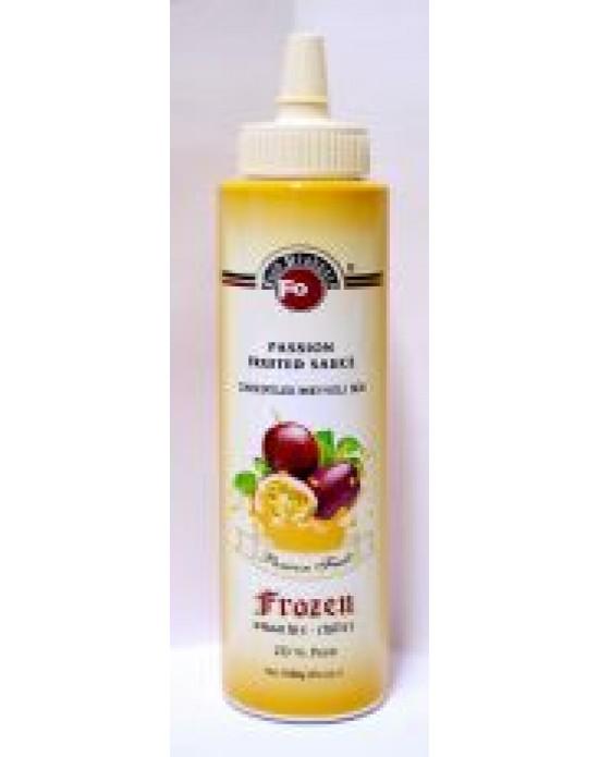 Fo Passion Fruit Meyveli Sos (Frozen) (%20 Çarkıfelek) (6x6) 1 Kg.