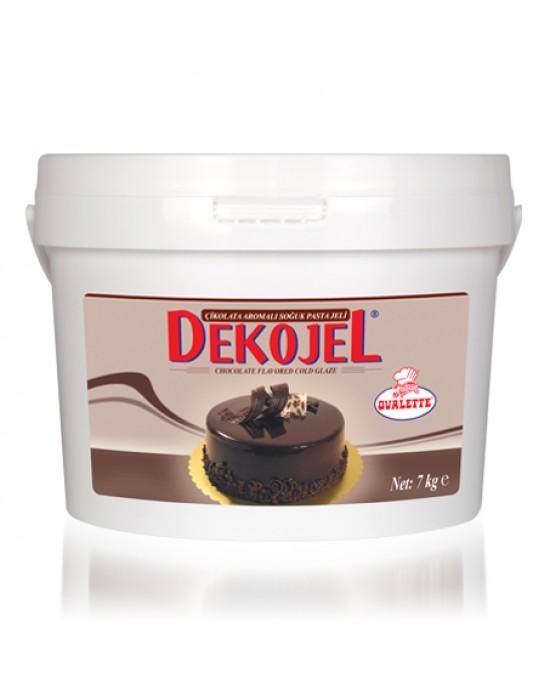 Ovalette Dekojel Çikolata Jöle 7 Kg.