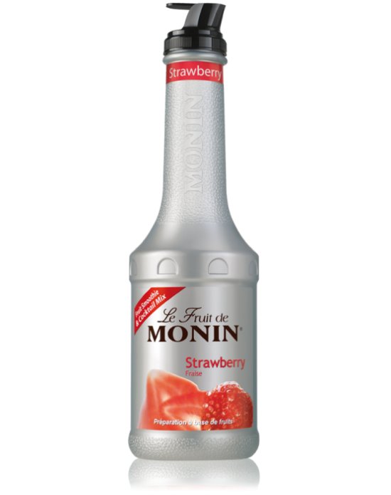 Monin Le Fruit Strawberry (Çilek) 1 Lt.Pet