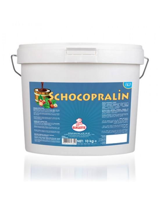 Schocopralin (Eko) kakaolu Fındık Ezmesi 10 Kg.