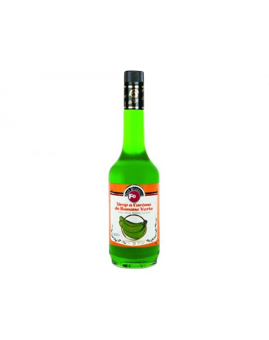 Fo Kokteyl Şurup - Yeşil Muz 700 Ml