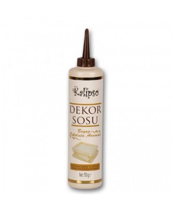 Kalipso Dekor Sosu - Beyaz Çikolata 750 Gr.