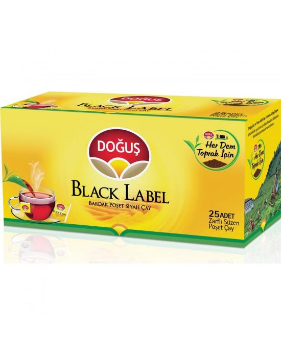 Doğuş Black Label Süzen Poşet Çay 25X2 Gr.