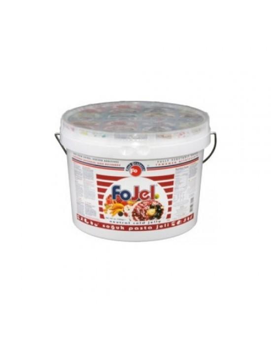Fo Vişne Aromalı Soğuk Pasta Jeli 5 Kg.
