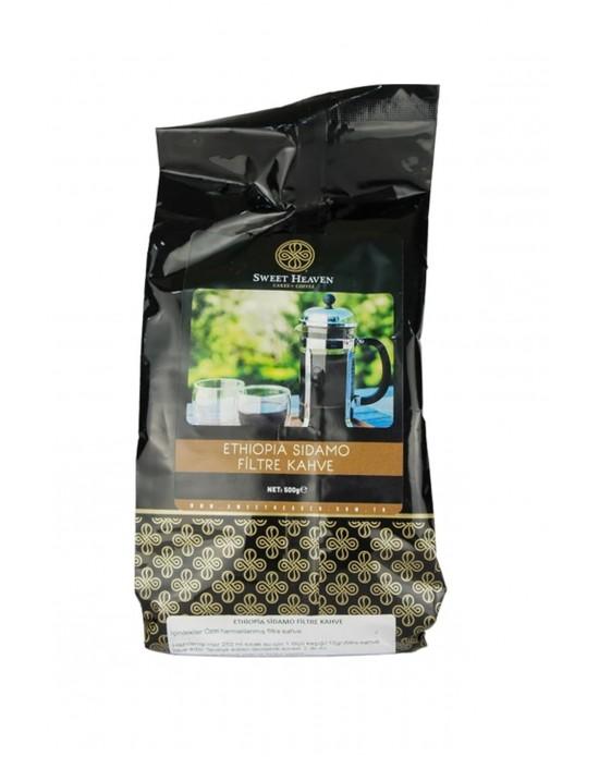 Sweet Filtre Kahve - Ethiopia Sidamo 500 Gr. Poşet
