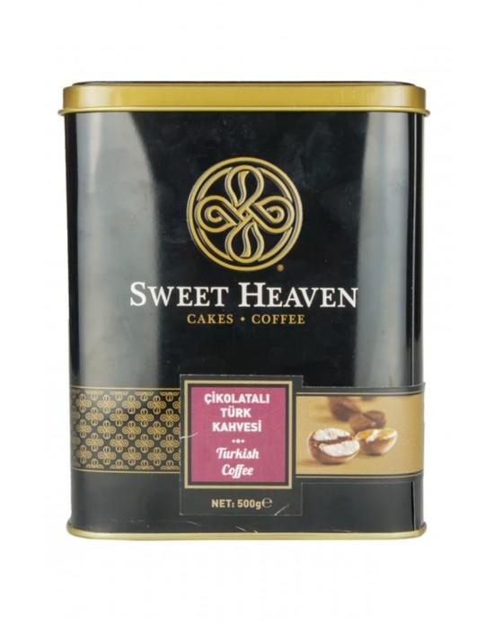 Sweet Türk Kahvesi Çikolatalı 500 Gr. Teneke