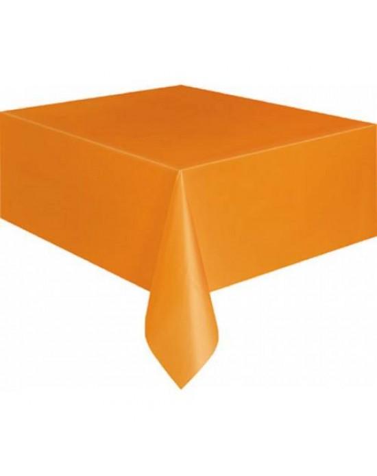 Masa Örtüsü Plastik Turuncu 1.20x1.80 Cm