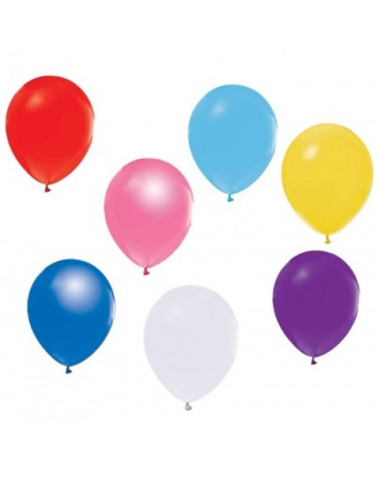 Balon Renkli 6 Adet