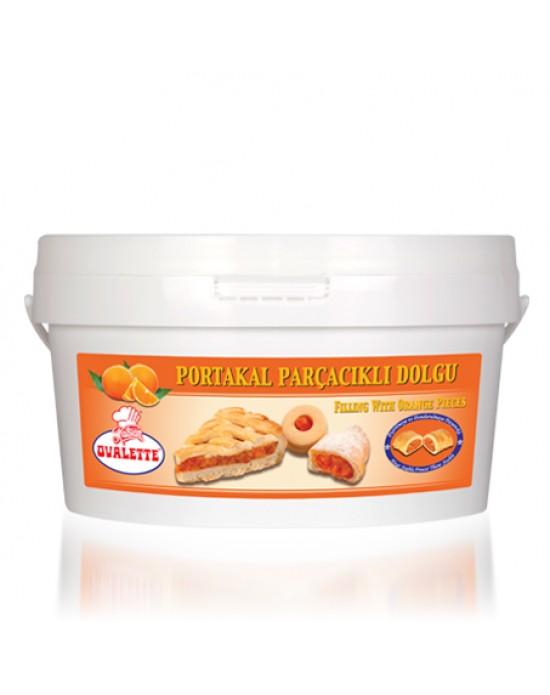 Ovalette Portakal Parçacıklı 4 Kg.