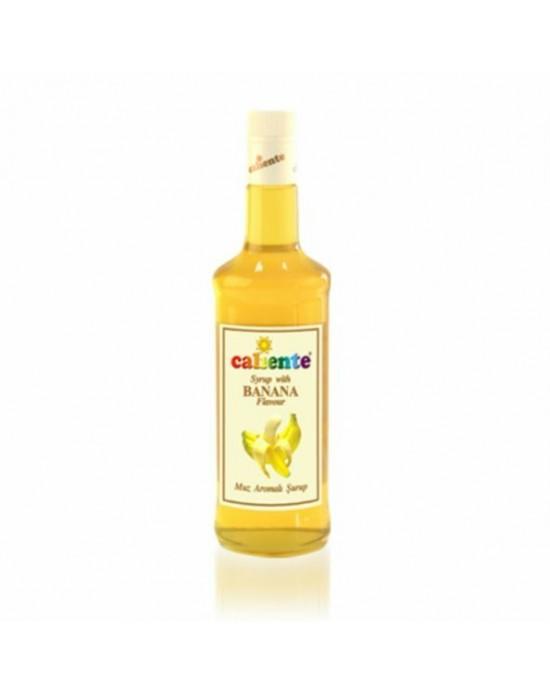 Caliente Muz Aromalı Kokteyl Şurubu 70 Cl