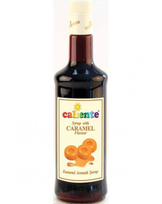 Caliente Karamel Aromalı Kokteyl Şurubu 70 Cl