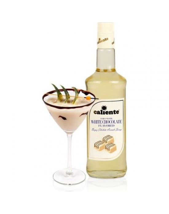 Caliente Beyaz Çikolata Aromalı Kokteyl Şurubu 70 Cl