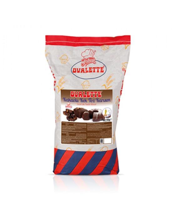 Katsan Ovalette Kakaolu Kek Toz Karışımı 10 Kg.