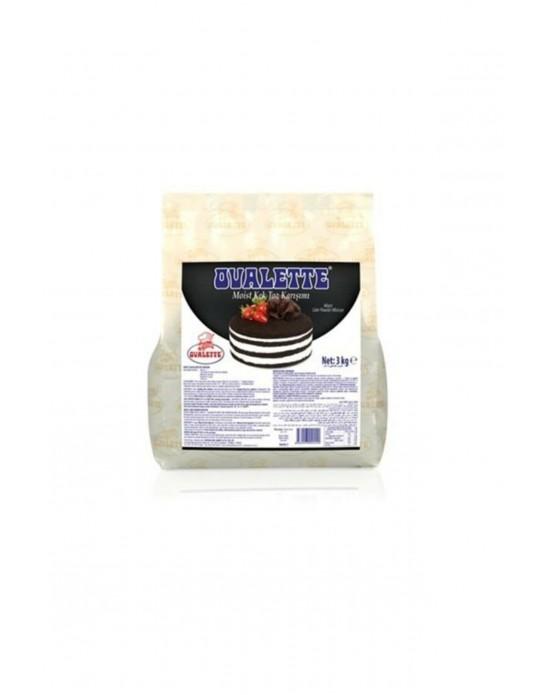 Katsan Ovalette Moist ( Islak )kek Toz Karışımı 3 Kg