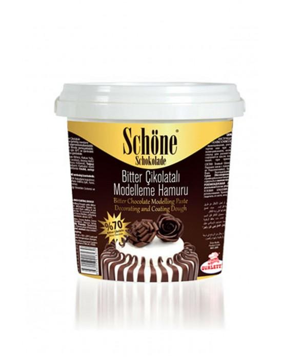 Shöne Bitter Çikolatalı Modelleme Hamuru 1 Kg.